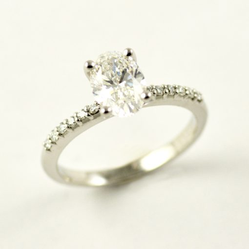 Earthwise Jewelry Artemisia engagement ring