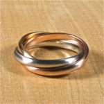 Earthwise Jewelry® rolling ring. By Leber Jeweler.