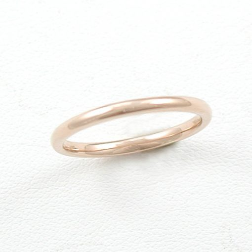 Earthwise Jewelry recycled metal wedding band.