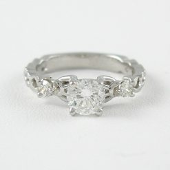 Earthwise Jewelry® Ivy diamond engagement ring